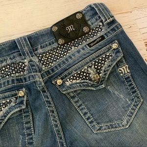 Miss Me Jeans - Miss me exclusive for buckle straight leg jean 31